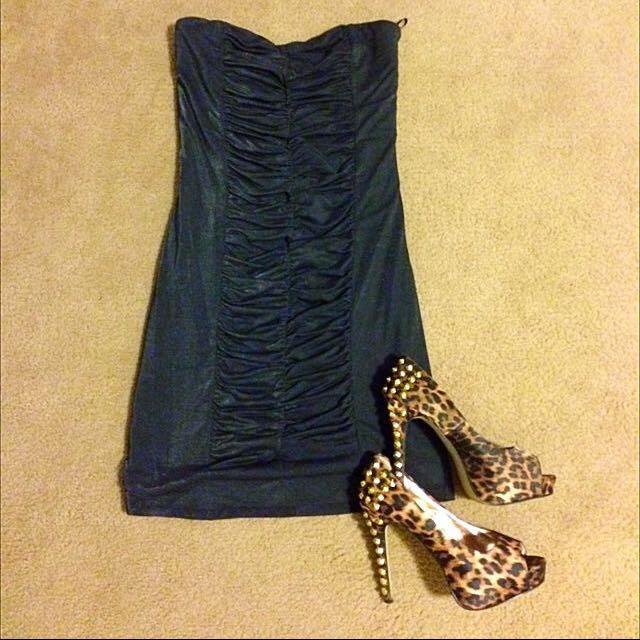Dotti Sz S Grey Party Dress