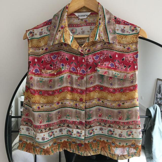 Floral Vintage Shirt