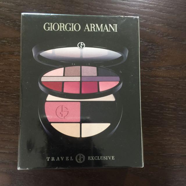 Giorgio Armani 眼影 腮紅 粉餅 隨身彩妝盒