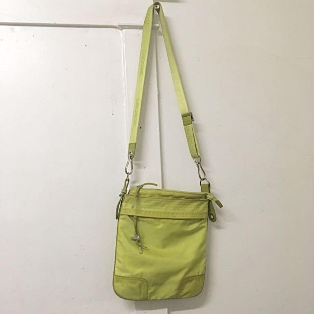 Green Lacrosse Cross Body Bag