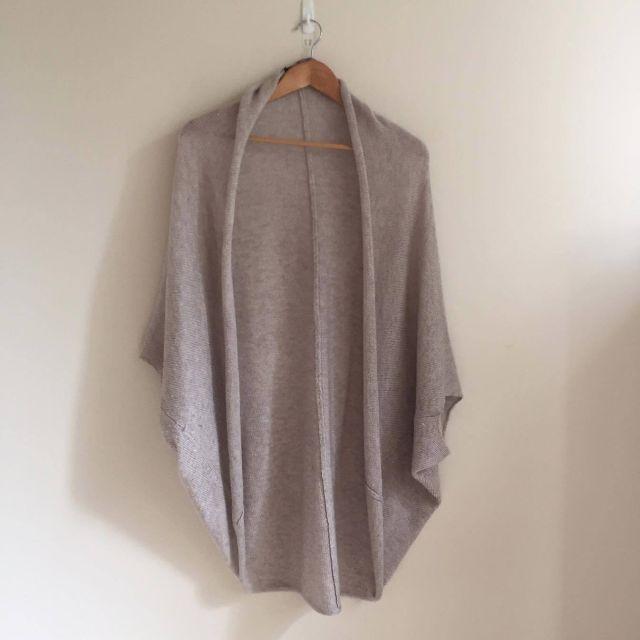 Grey ZARA Cocoon Knit