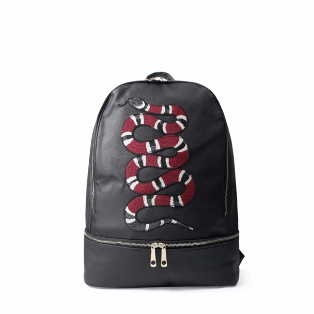 a041f7115a84 Gucci Snake Inspired Backpack, Men's Fashion, Bags & Wallets on ...