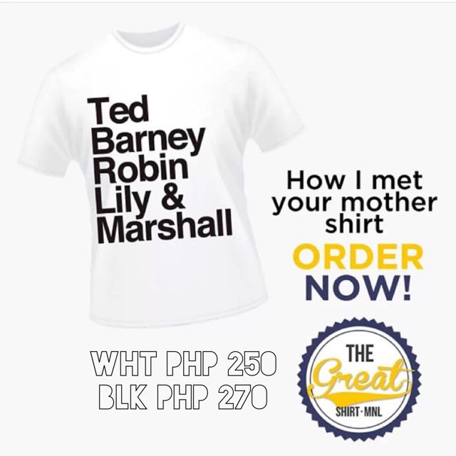 HIMYM Customized shirt