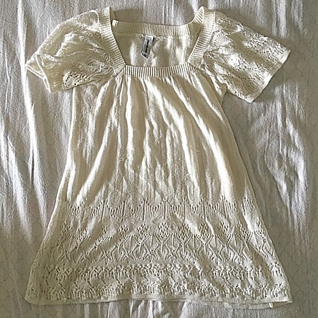 JeansWest White Knitted Top