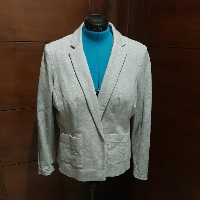 Light Grey Jacket Size 18