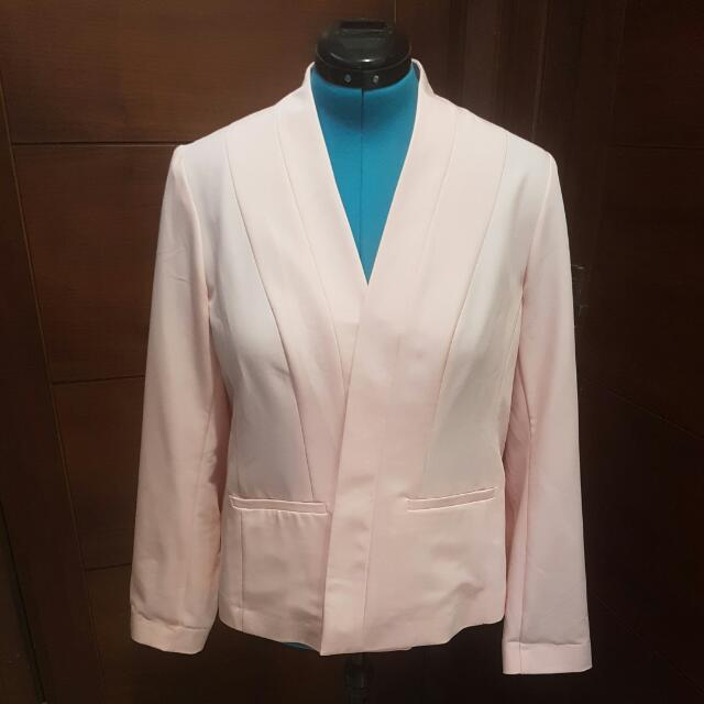 Light Summer Jacket- Dusty Pink: Size 18