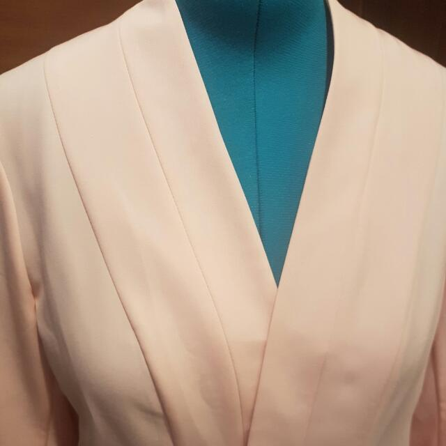 Light Summer Jacket- Dusty Pink: Size 18