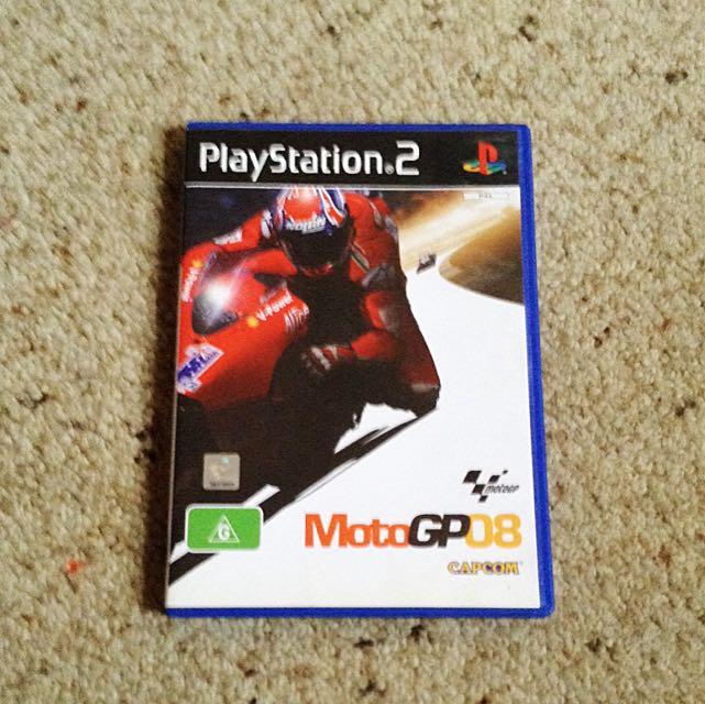 Moto GP 08 PS2 Game