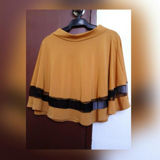 Mustard Skater Skirt