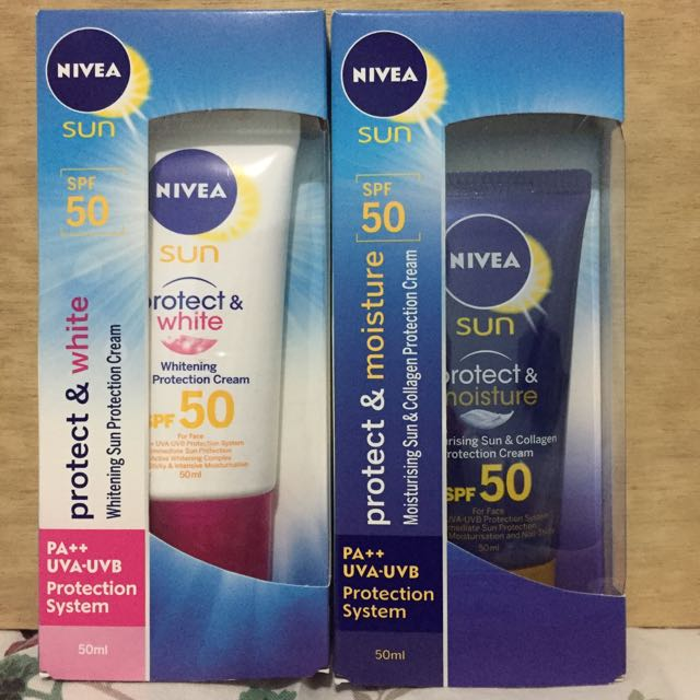NIVEA Face Sunblock - Set Of 2