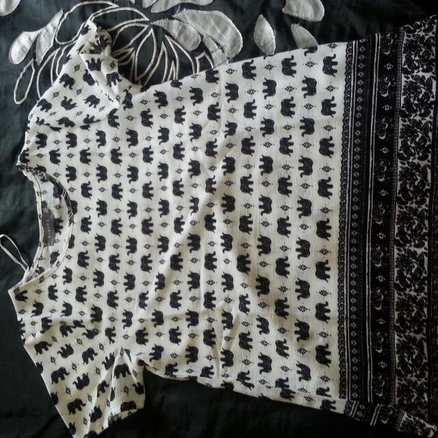 Pretty Elephant Top