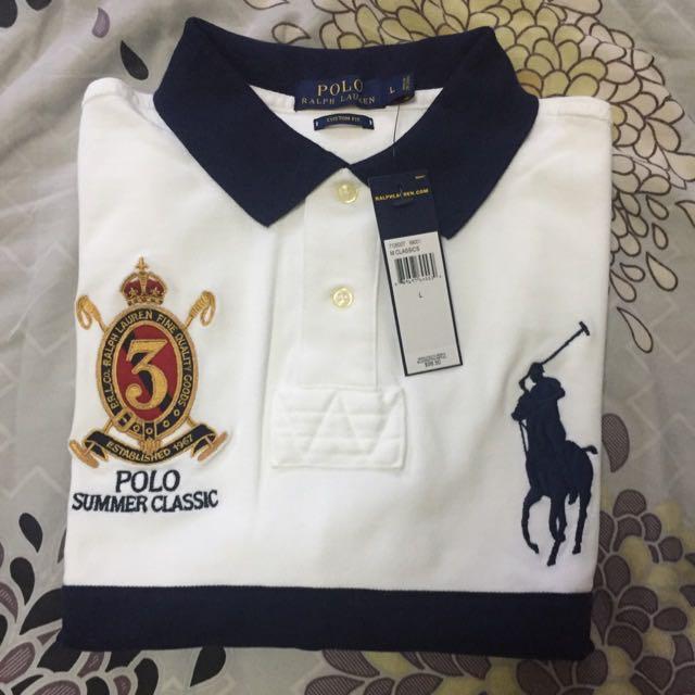 921f68e81f7 Ralph Lauren Limited Edt Summer Classics Polo Sz L