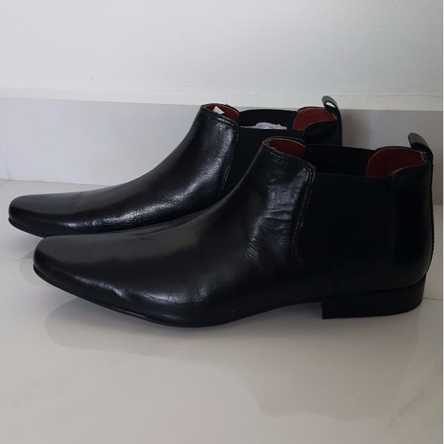 0b9206961e20 Red Tape Men's Black Formal Boots, Men's Fashion, Footwear on Carousell