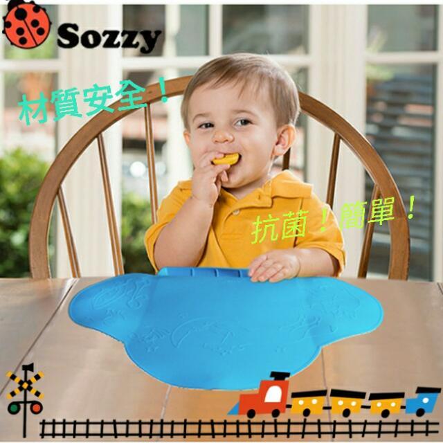 現貨清倉賣 Sozzy 兒童攜帶式防水抗菌吸盤餐墊《FDA認證》