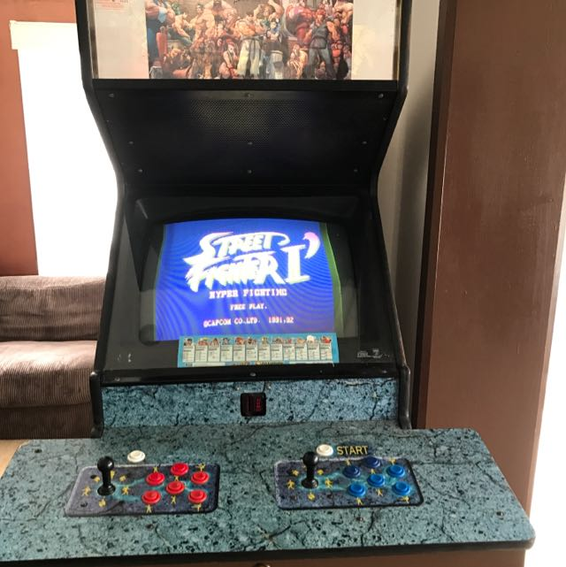 Street Fighter 2 'Hyper Fight' Arcade Machine