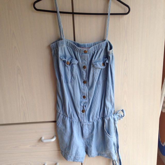 SUPRE - Jean Playsuit