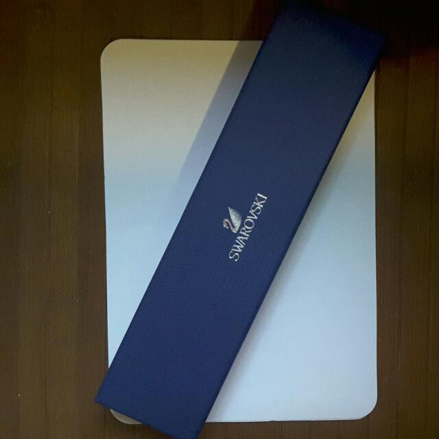 Swarovski Leather Strap Bracelet