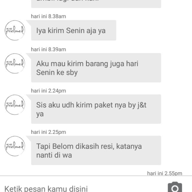 Testi/sold By Barter