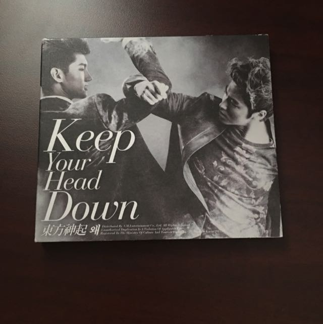TVXQ Keep Your Head Down