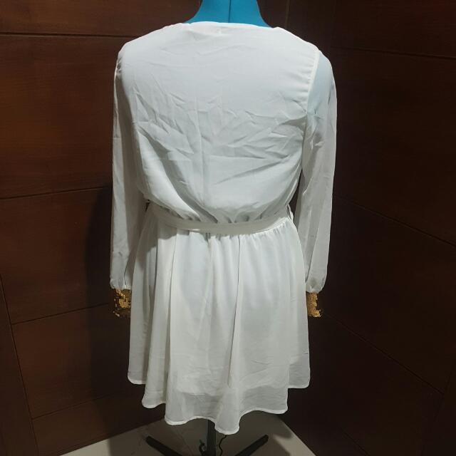 White Shirt-dress Size 14-16