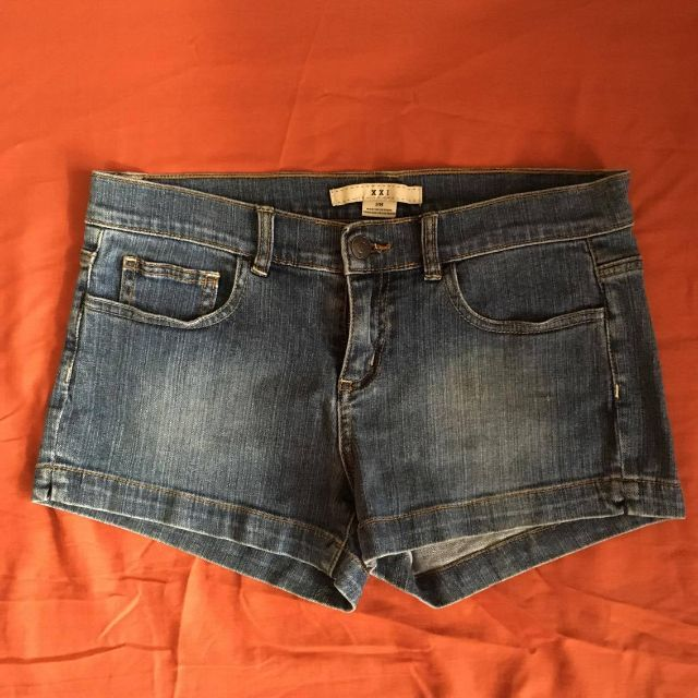 XXI denim shorts