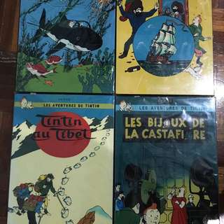 Tin Tin Adventure Lacquered Paint Wall Art