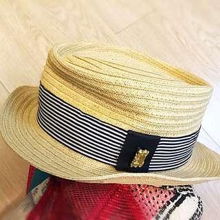 Summer Hat w/tag 草帽 未拆牌
