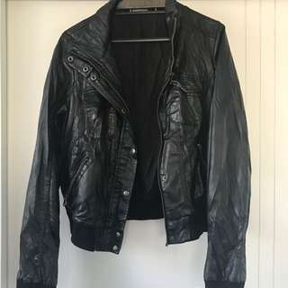 Glassons leather Look Jacket