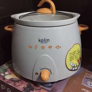 歌林陶瓷燉鍋3公升