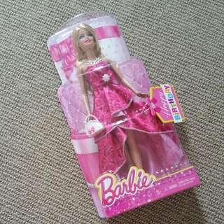 brand new Barbie free lipbalms