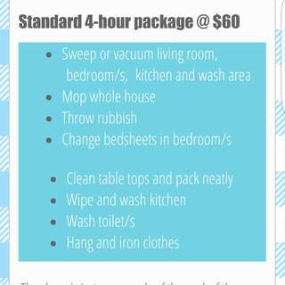 Part time maids available islandwide