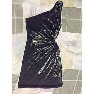Black & Silver Party Dress