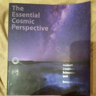 Astronomy: The Essential Cosmic Perspective