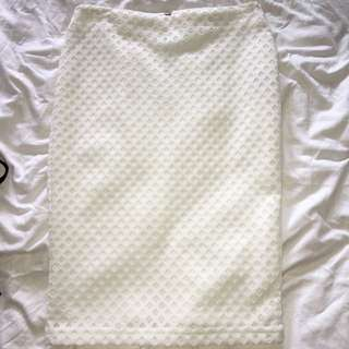Off White Sports Girl Skirt Size Small