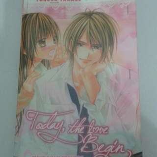 Novel TODAY THE LOVE BEGIN
