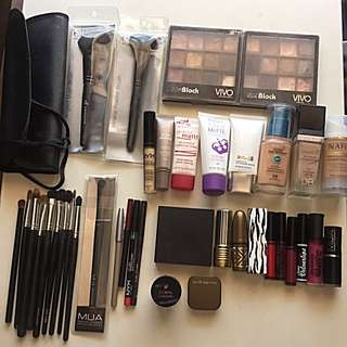 MAKEUP - MAC, Elizabeth Arden, Stila Etc