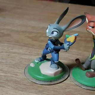 PS3 Disney Infinity -  Judy Hopp Figure