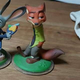 PS3 Disney Infinity - Nick Wild Figure