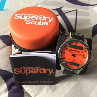 Superdry Scuba (Camo) Watch - Complete Set