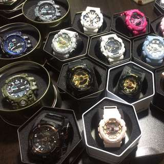 G Shock & Baby G Watches