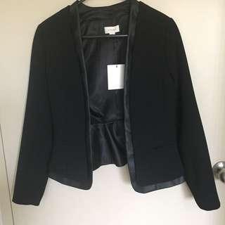 Black Witchery blazer Jacket