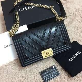 Chanel Boy Chevron Limited Edition