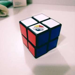 Rubik's Authentic Cube 2 x 2 black puzzle beginner