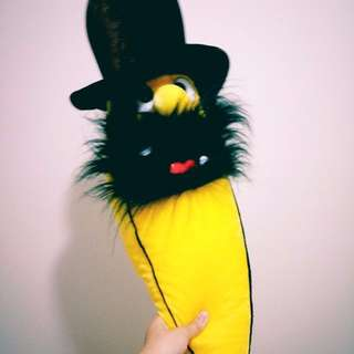 Ugly ass banana plush toy plushie soft hairy