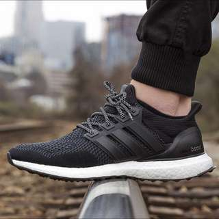 "Adidas Ultraboost ""black white"""
