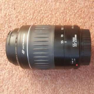 Canon EF 55-200mm Lens