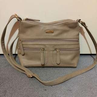 Beige Elle Cross Body Bag