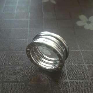 Bvlgari 18K White Gold Ring