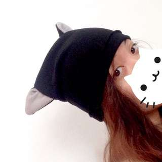 (MTO) Cat Ears bonnet beanie