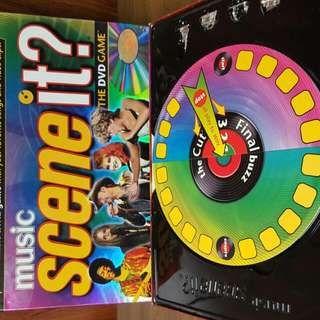 Scene It? Board Game